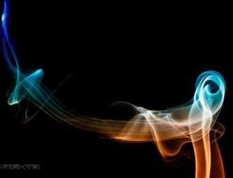 Fotografische Rauchzeichen